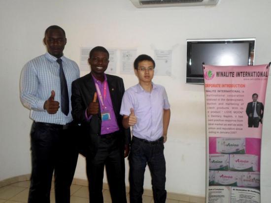 Dr AMANI avec les directeurs